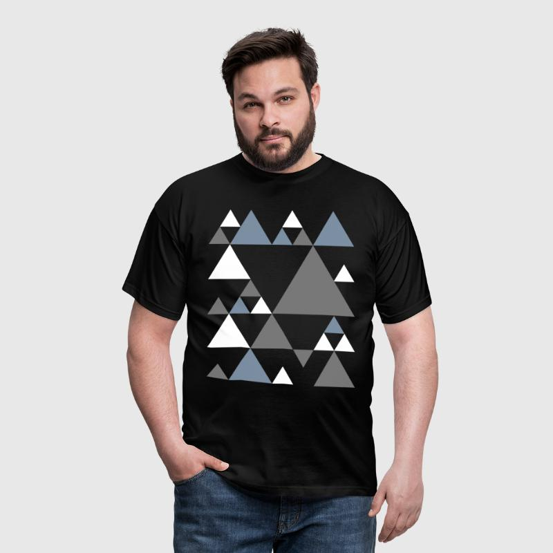 Retro triangles  - Men's T-Shirt