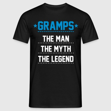 Gramps - The Man The Myth The Legend - Men's T-Shirt