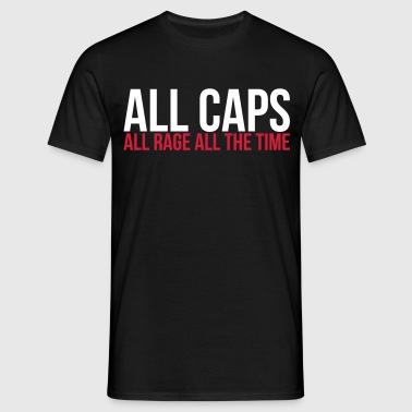 all caps - T-shirt Homme