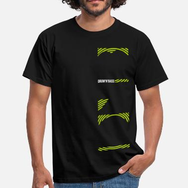Jungle Dnb DnB - Männer T-Shirt