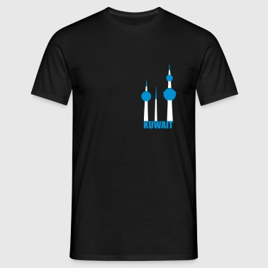 Kuwait towers - Mannen T-shirt