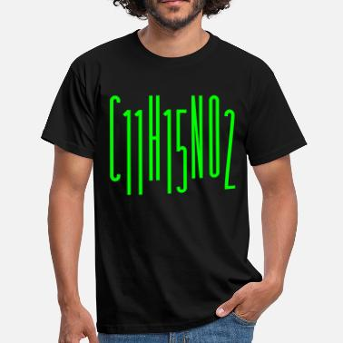Methamphetamin C11H15NO2 - Männer T-Shirt