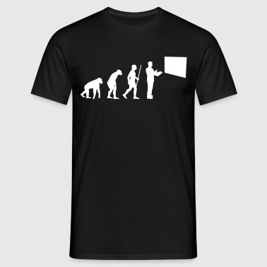 Professor Evolution - Männer T-Shirt
