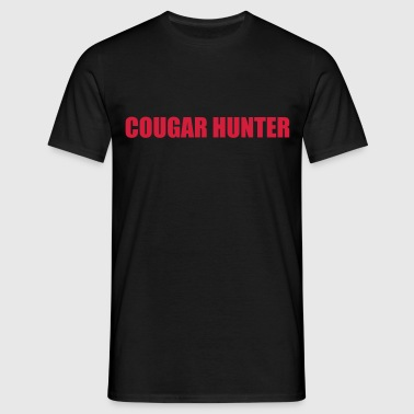 Cougar Hunter - T-shirt herr
