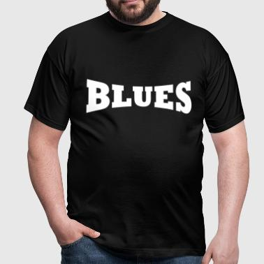 Blues logo - Mannen T-shirt