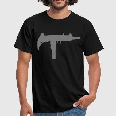 gun rifle weapon military m16 - T-shirt herr