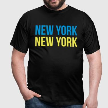 new york new york - T-shirt Homme