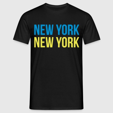 new york new york - Mannen T-shirt