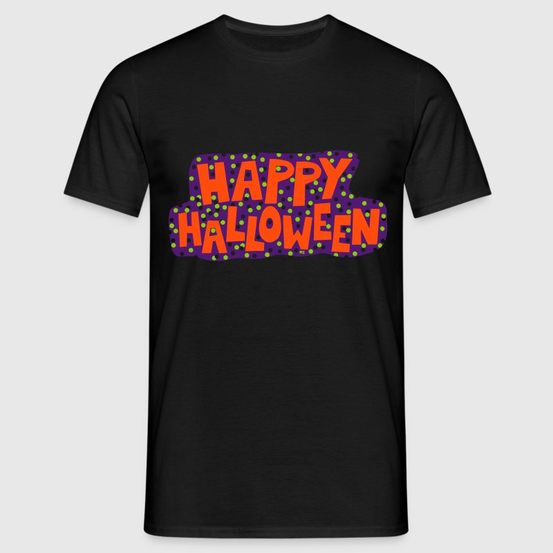 Happy Halloween Fête Costume Party Horror - T-shirt Homme