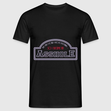 asshole - Men's T-Shirt