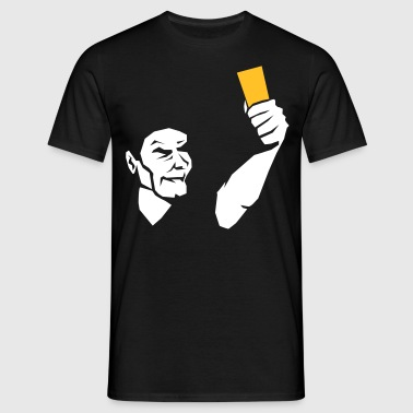 Referee card  - Men's T-Shirt