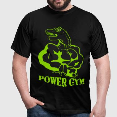 Power Gym Bodybuilding - Männer T-Shirt