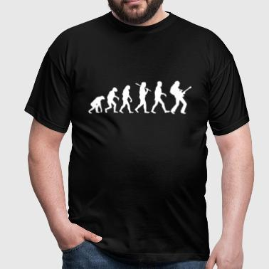 Evolution Rock Guitar - Männer T-Shirt