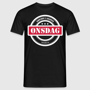 Onsdag - T-skjorte for menn