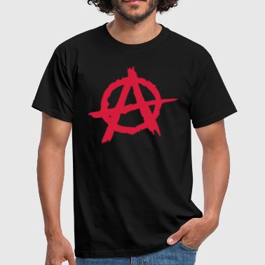 Anarchy - Herre-T-shirt