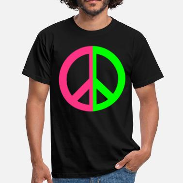 New Peace - MissPony ™ - T-shirt mænd