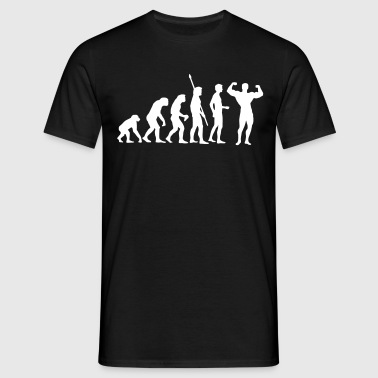 evolution_bodybuilding - Men's T-Shirt