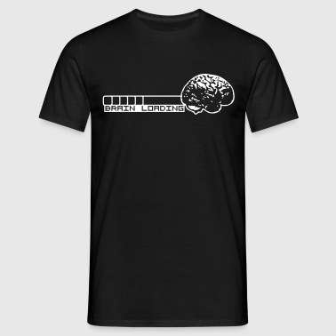 Brain Loading - Mannen T-shirt