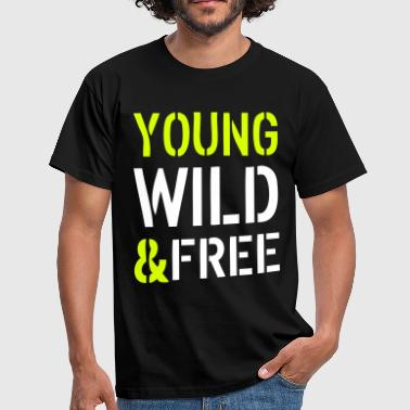 Young & Wild - Men's T-Shirt