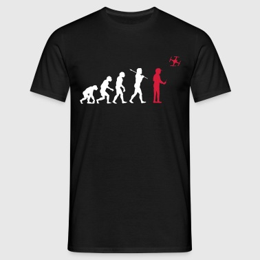 The drone evolution - Camiseta hombre