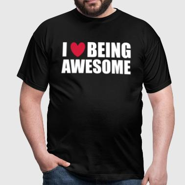 Being Awesome - Camiseta hombre