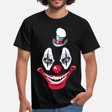 Strange Design Strange clown - Men's T-Shirt