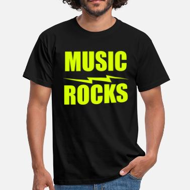Rock Music music rocks - Männer T-Shirt