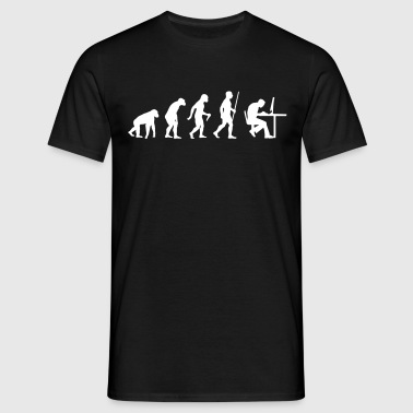 Geek Evolution - Männer T-Shirt