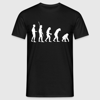 Evolution Reverse  T-Shirts - Men's T-Shirt