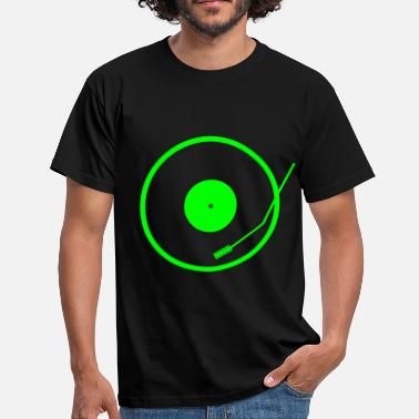 Neon turntable - Men's T-Shirt