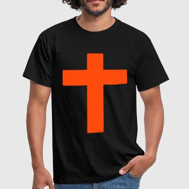 Cool Christian cross - Herre-T-shirt