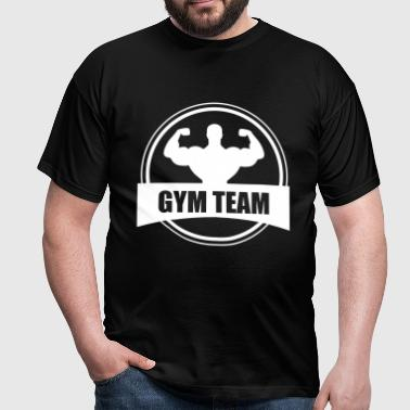 GYM TEAM | Fitness | Body Building  - Camiseta hombre