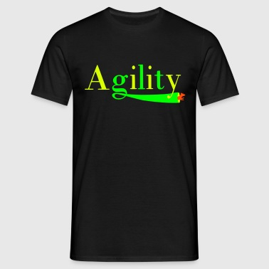 Agility tunnel - Mannen T-shirt