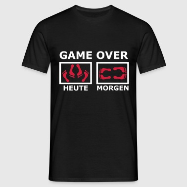 GAME OVER (2f) - Männer T-Shirt