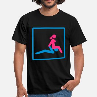 Kamasutra Kamasutra - Facesitting - Men's T-Shirt