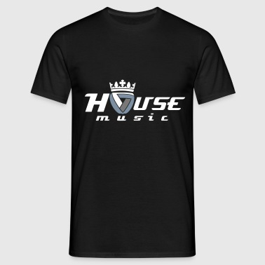 Royal House Music  - Men's T-Shirt