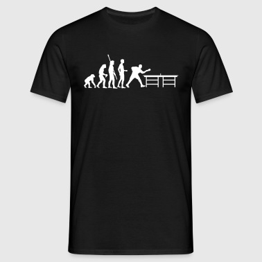 evolution_table_tennis_a - T-shirt herr