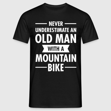 Old Man - Mountain Bike - T-shirt herr