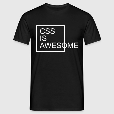 CSS Is Awesome  - Männer T-Shirt