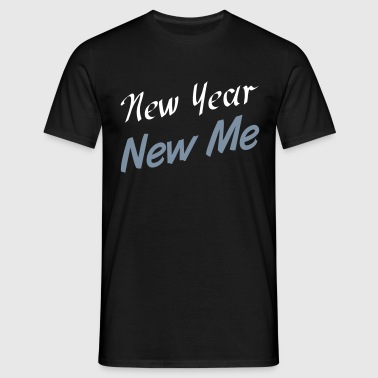 New Year - T-skjorte for menn