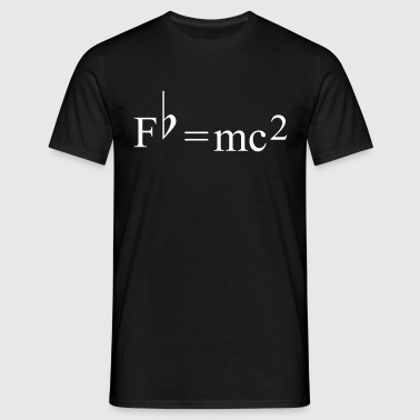 Fb=mc2 Theory of Relativity for Musicians - Herre-T-shirt