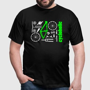 MTB Kit Cycloholic - Männer T-Shirt