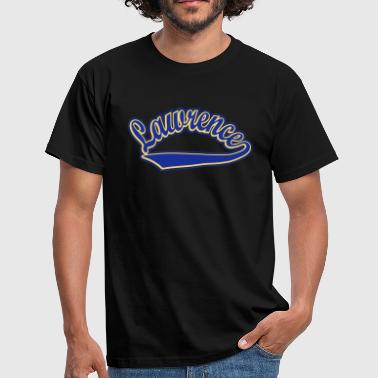 Lawrence - T-shirt Personalised with your name - Men's T-Shirt