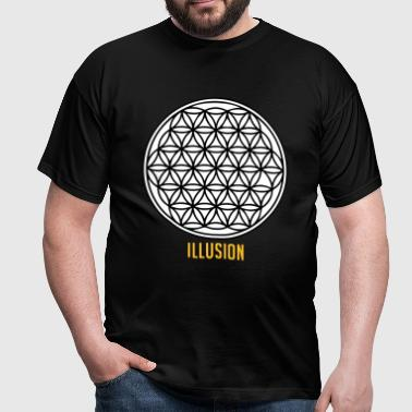 Illusion - T-shirt Homme