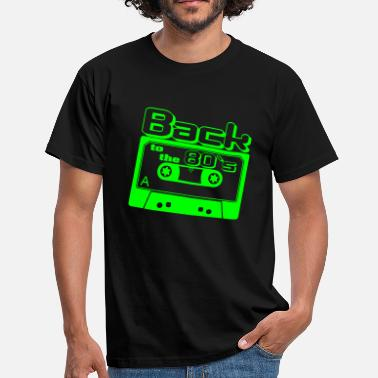 80er Back to the 80s - Männer T-Shirt
