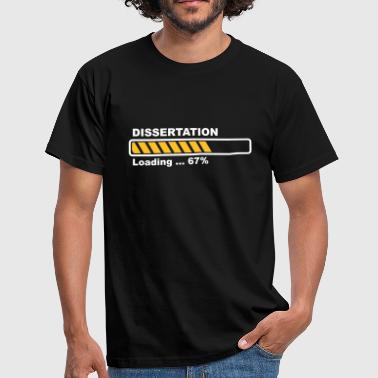 Dissertation - loading - Men's T-Shirt