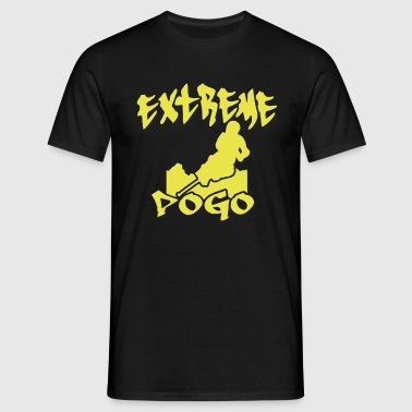 Extreme Pogo Skyline - Men's T-Shirt