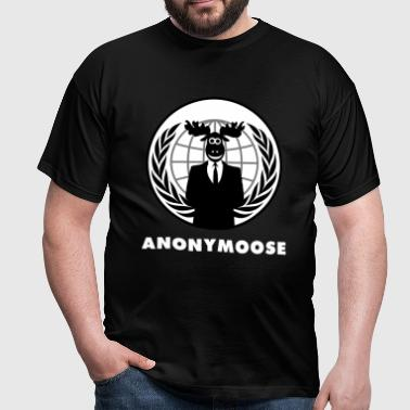 Anonymoose - Anonymous 1 - Mannen T-shirt