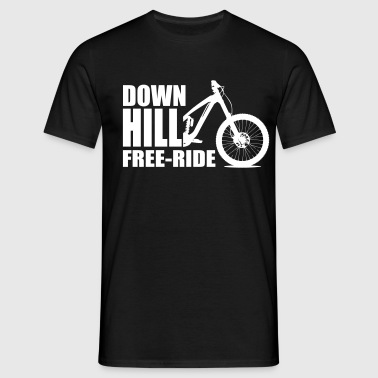 DOWN HILL - T-shirt Homme