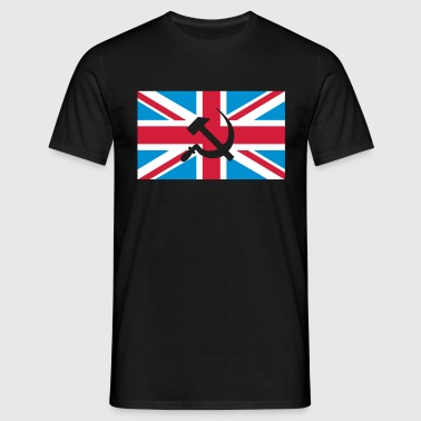 Hammer and Sickle Union Jack; Union Jack - T-shirt herr